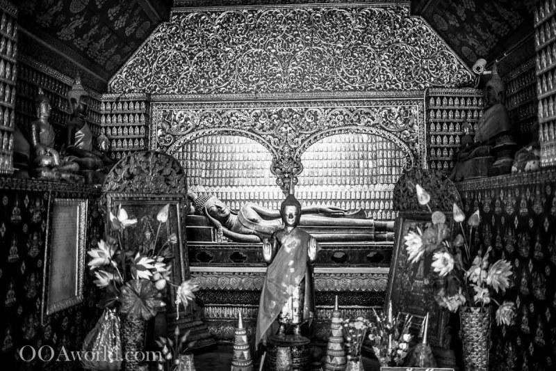 Lying Buddha Luang Prabang Laos Photo Ooaworld