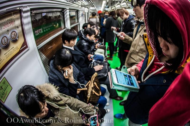 Seoul Subway Photo Ooaworld