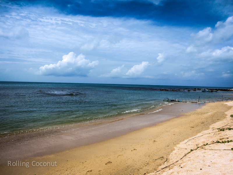 Point Pedro Beach Jaffna Sri Lanka ooaworld Rolling Coconut Photo Ooaworld