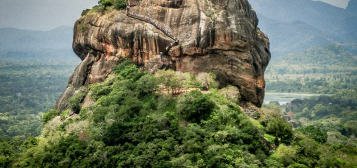 Sigiriya View from Pidurangala Sri Lanka ooaworld Rolling Coconut Photo Ooaworld
