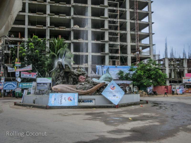 Bangladesh Cox's Bazar Construction of New Resorts ooaworld Rolling Coconut Photo Ooaworld