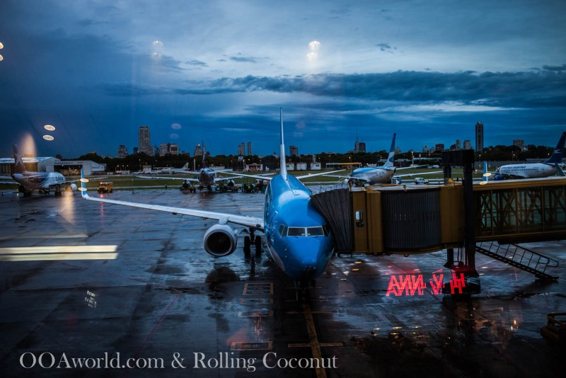 Flight Buenos Aires to Ushuaia LAN ooaworld Rolling Coconut Photo Ooaworld