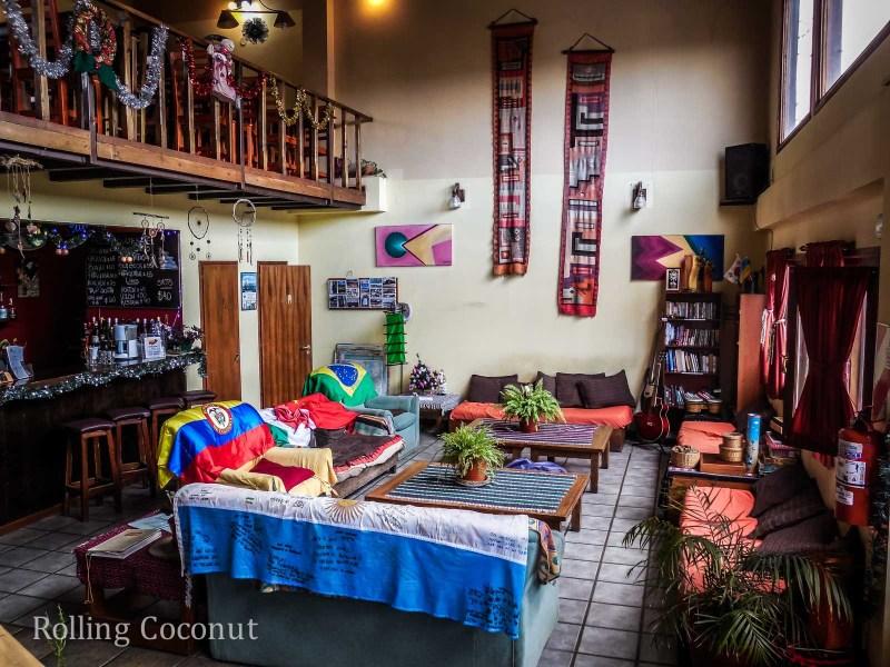 Ushuaia Argentina Antarctica Hostel Entrance ooaworld Rolling Coconut Photo Ooaworld