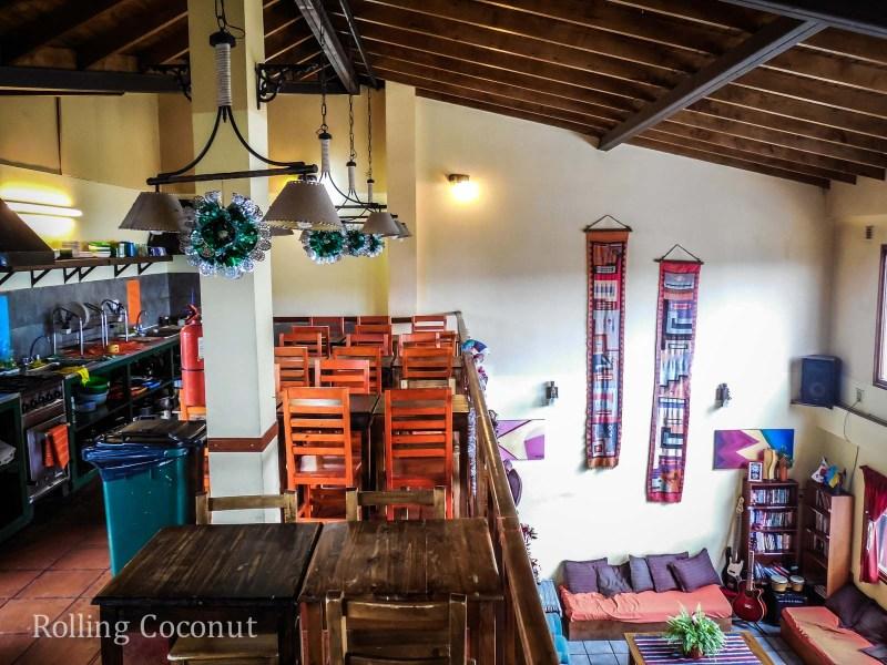 Ushuaia Argentina Antarctica Hostel Kitchen ooaworld Rolling Coconut Photo Ooaworld