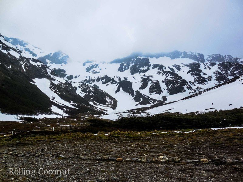 Ushuaia Argentina Glacier Martial ooaworld Rolling Coconut Photo Ooaworld