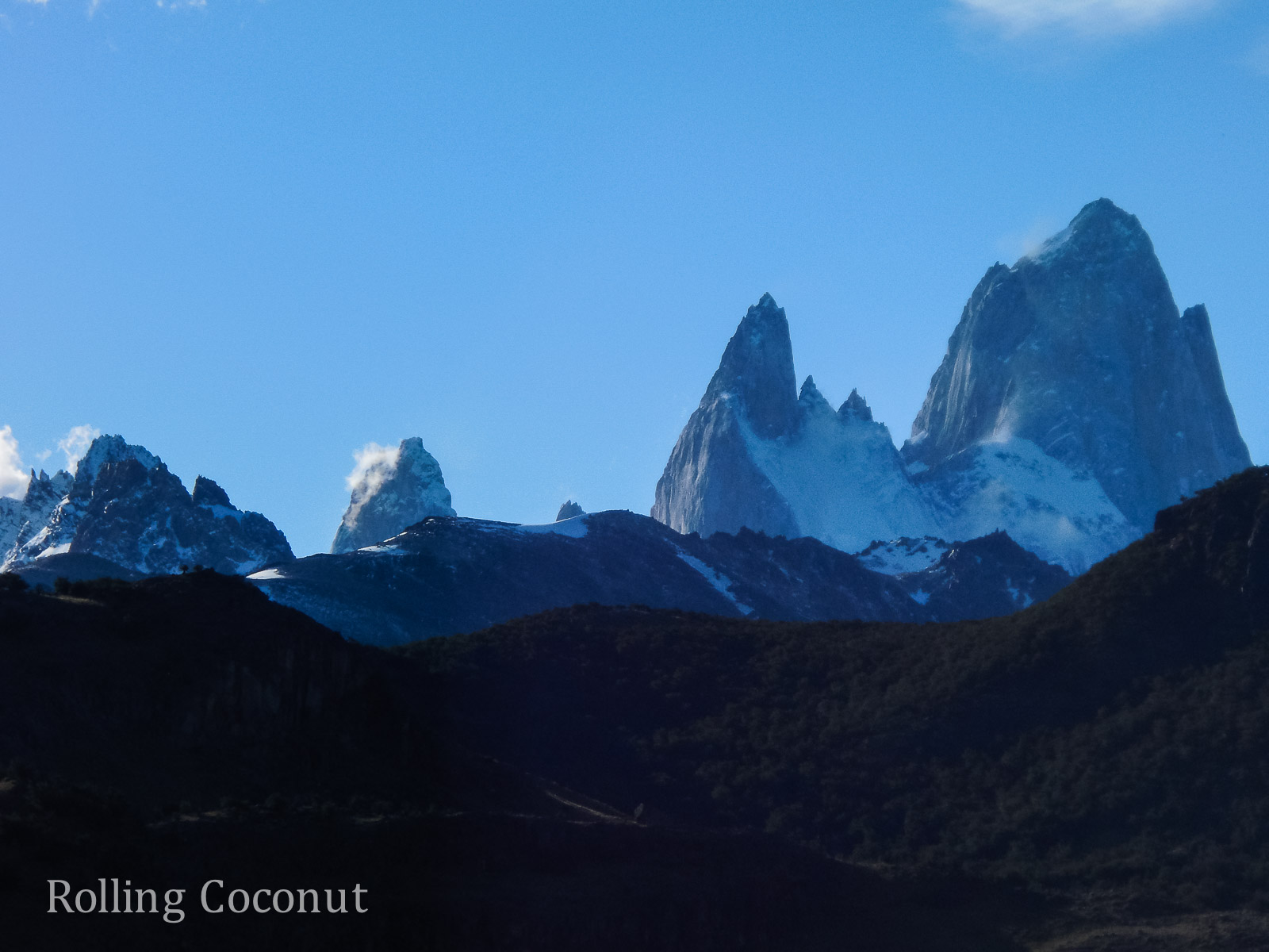 El Chalten Argentina Patagonia Torres ooaworld Rolling Coconut Photo Ooaworld