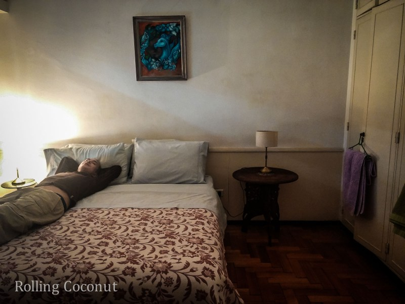 Argentina Buenos Aires Homestay Room Rolling Coconut OOAworld Photo Ooaworld