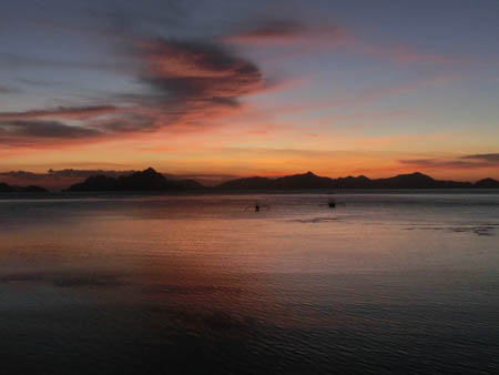 sunset el nido philippines photo ooaworld Rolling Coconut
