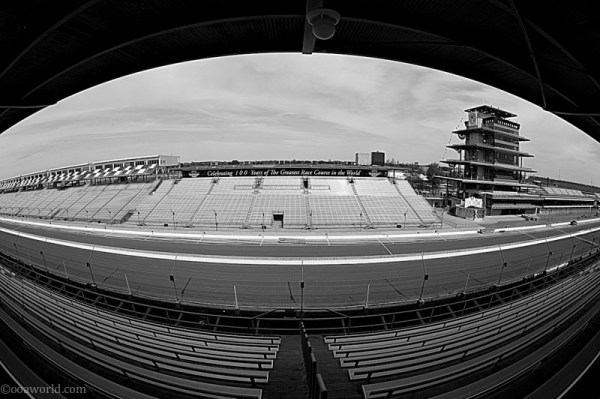 Indianapolis, dubbed the world's greatest race course
