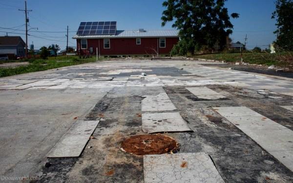 Photos New Orleans after Hurricane Katrina Empty lots