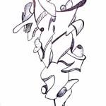 duck walk art drawing ooaworld ooaddle