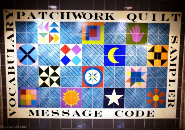 Iowa Heartland Slave Freedom Patchwork Quilt