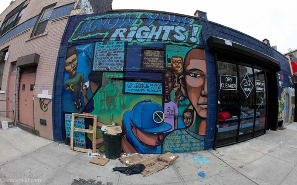 Know Your Rights, Graffiti, NYC, New York