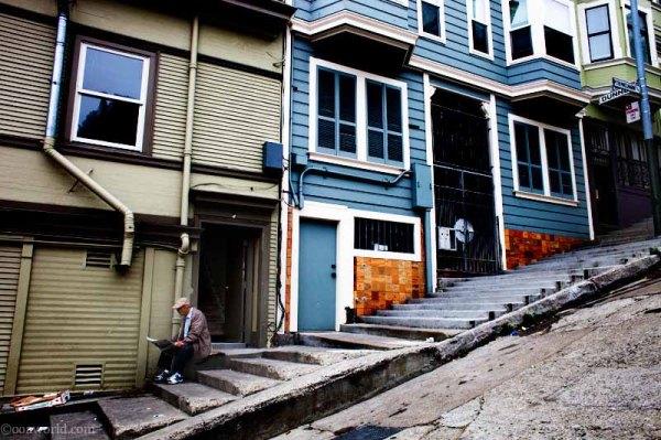 Photos San Francisco Bay Area Hills Stoop USA road trip photo ooaworld