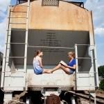 Photos Georgia Athens Summer School reading on the train