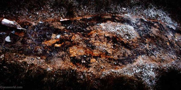 Texture, Yellowstone Park, Scatter