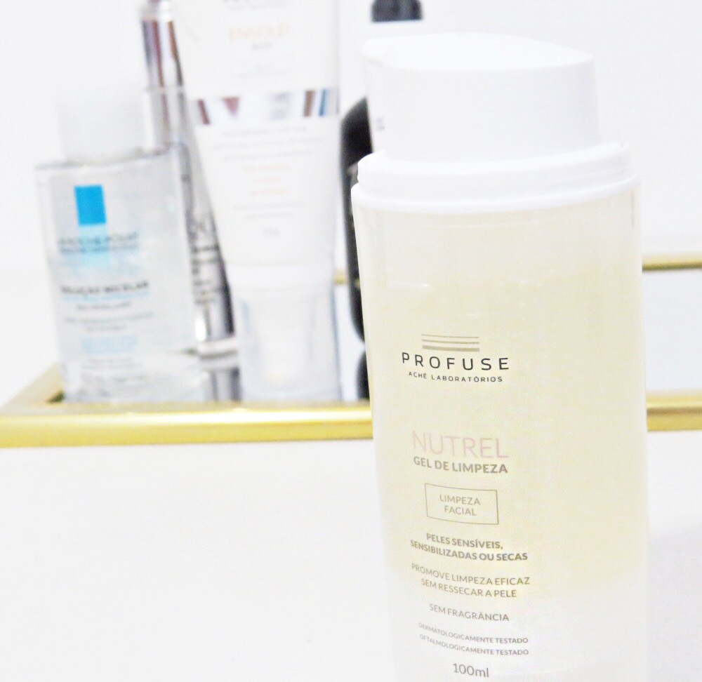Gel de limpeza para pele sensível Profuse