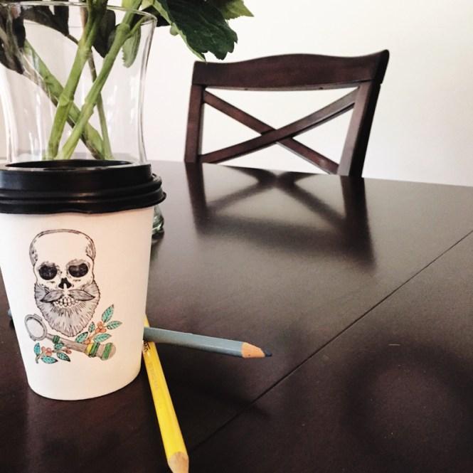 sump coffee, espresso cup