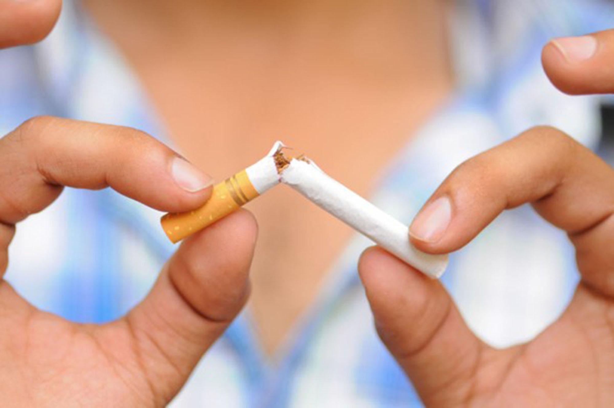 As posições sobre o que deixei de fumar