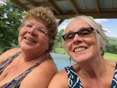 Two Besties, Carolyn & Kris