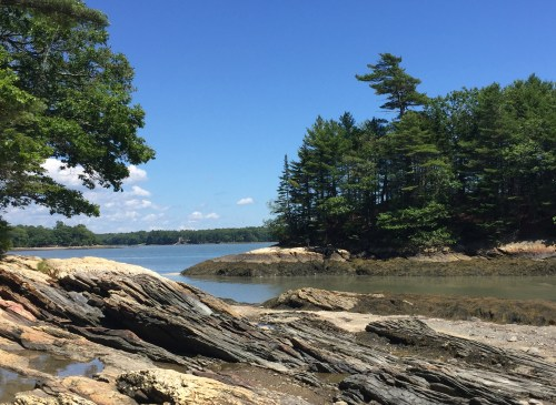 Wolfe's Neck State Park, Freeport Maine