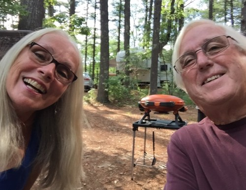 Our camp at Pinewood Lodge, Plymouth Mass.