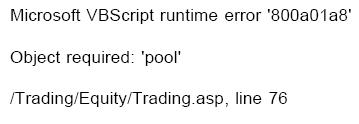 Did you check for syntax errors?