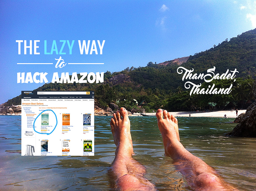 Five Weeks, Five #1 Best-Sellers: The Lazy Man's guide to Amazon Kindle Promotions