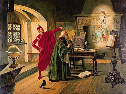 FAUST APPARITION OF MARGUERITE