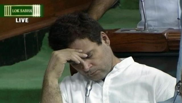 """Six excuses given by Congress & friends to save """"sleeping"""" Rahul Gandhi"""