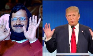 Arvind Kejriwal and Donald Trump