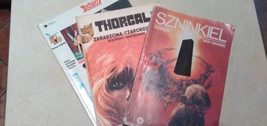Komiksy kupione na Seredyńskiego
