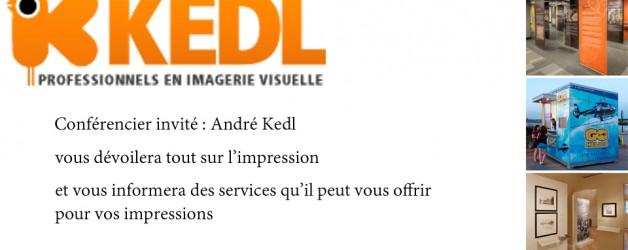 Conférencier André Kedl