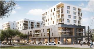 LE SYMPHONIE | Construction de Dalle Pleine |Logement – Bâtiment commercial