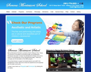 Sienna-website screen-shot