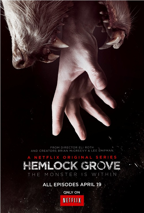 Hemlock Grove Is Just A Teen Drama With Better Effects and More Boobs - Review