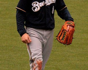 Milwaukee Brewers outfielder Ryan Braun. (Photo courtesy of The Dana Files)