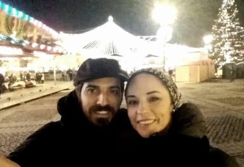 FOTO Weekend de vis pentru Andreea Marin la Sibiu. Cină romantică și întâlnire cu Iohannis!
