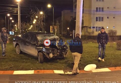ACCIDENTUL DE PE MIHAI VITEAZU: AU FUGIT de un filtru DE POLIȚIE. Șoferul NU avea permis!