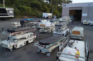 San Diego used medical equipment warehouse hospital beds for sale