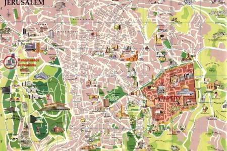 map for jerusalem