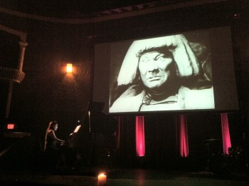 Pianist Beth Karp plays her original score to 'The Golem' in Vancouver.