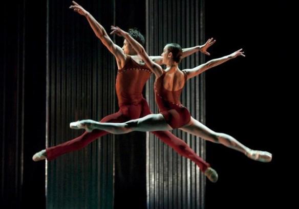 """Artur Sultanov and Alison Roper in Nicolo Fonte's """"Bolero,"""" 2010. The ballet will repeat in February 2014. Photo: Blaine Truitt Covert"""