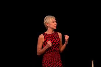 Angela Hahn. Photo: Mike Bodine