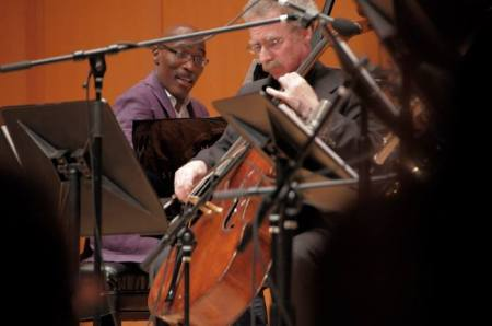 """Darrell Grant and Hamilton Cheifetz join a host of other jazz and classical musicians in """"The Territory."""""""