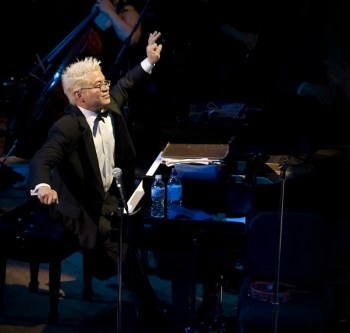 Pink Martini founder/pianist Thomas Lauderdale performs in Hillsboro.
