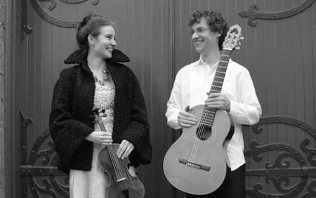 Lyrical Strings Duo joins Chervona Bambino and Agnieszka Laska Dancers Thursday night.