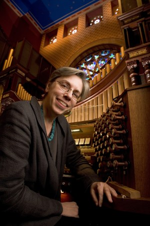 Gail Archer performs at Mount Angel Abbey Wednesday and Thursday. Photo: Buck Ennis.