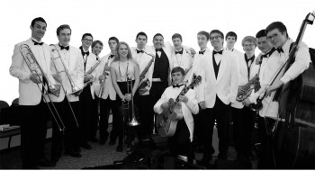 Pacific Crest Jazz Orchestra performs at Marylhurst College.
