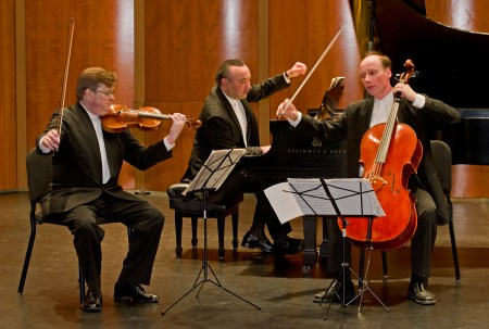 Montrose Trio performs in Eugene and Portland. Photo: Jerry Zolynsky.